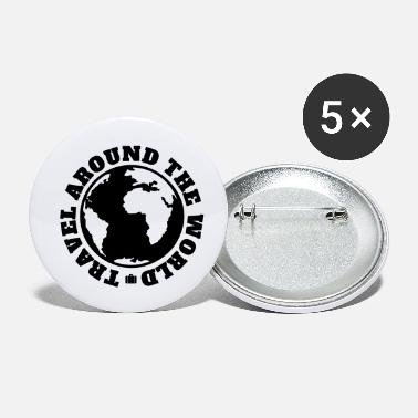 travel around the world - Small Buttons