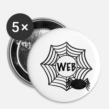 Web web - Buttons klein 25 mm (5-pack)