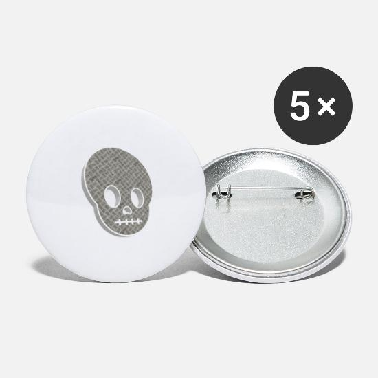 Boss Buttons - head - Small Buttons white