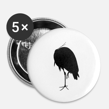 Lapsi cigogne - Badge petit 25 mm