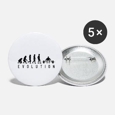 Evolution Gym Evolution - Buttons klein