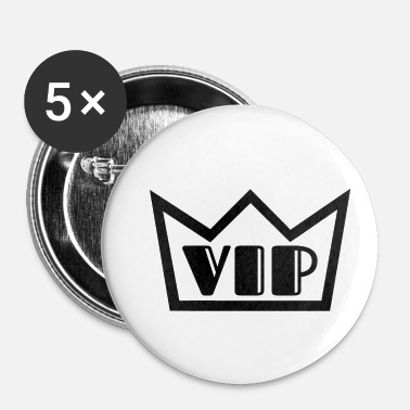 Vip VIP - Buttons klein 25 mm (5-pack)