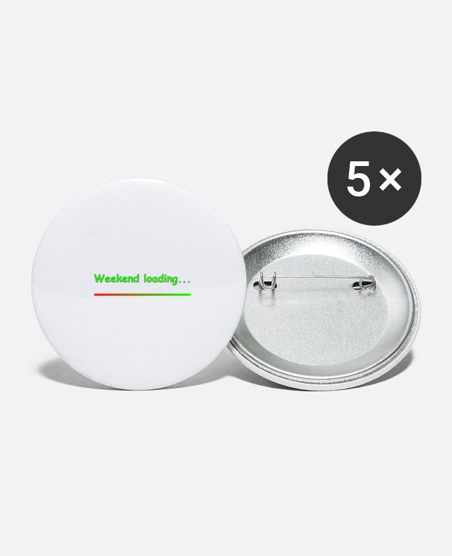 End Of The Week Buttons - Weekend loading - Small Buttons white