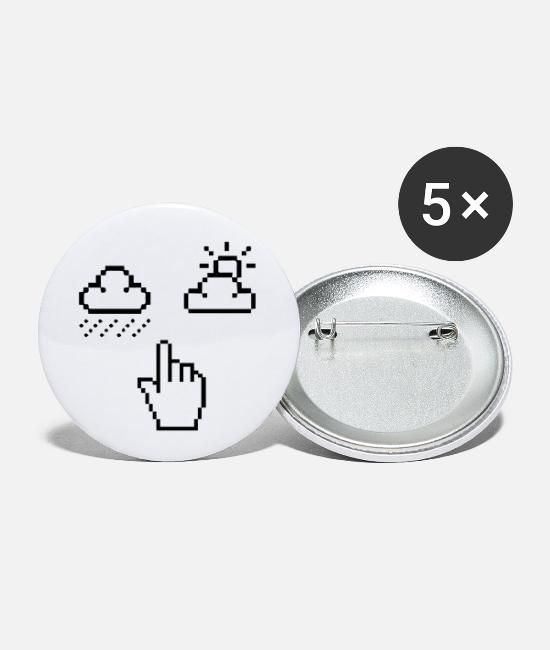 Arrow Buttons - MOOD - Small Buttons white