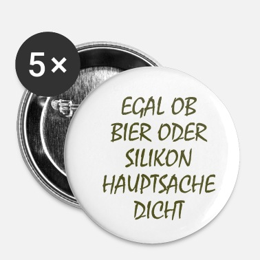 Silicone silicone - Badge petit 25 mm