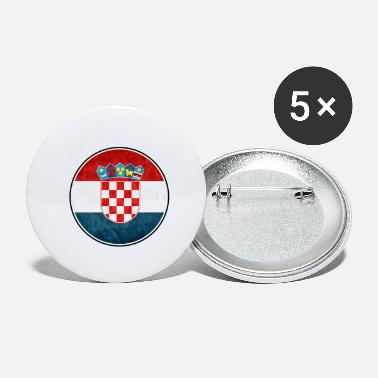 Eastern Europe Croatia Zagreb Eastern Europe - Small Buttons