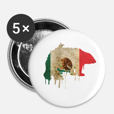 Sydamerika Mexico Bear Sydamerika - Buttons/Badges lille, 25 mm