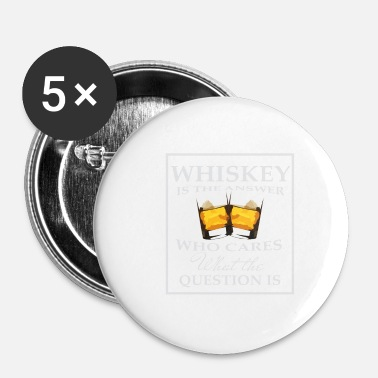 Whisky whisky - Chapa pequeña 25 mm