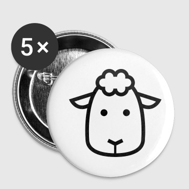 Mouton Mouton - Badge petit 25 mm