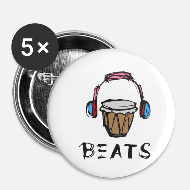 Choir Music Sound Bass Gift Instrument Musician - Buttons small 25 mm