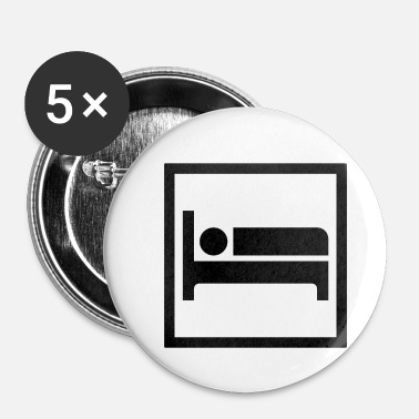 Dormir Dormir - Badge petit 25 mm