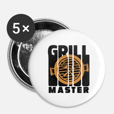 Bbq Master Grill Master BBQ - Buttons klein 25 mm (5-pack)