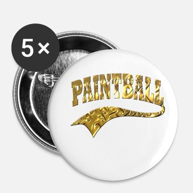 Paintball Paintball - Badge petit 25 mm