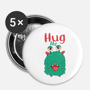 Hug HUG ME - Badge petit 25 mm