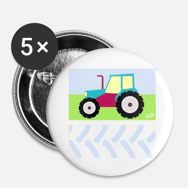 Tractor Tractor Design - Buttons small 25 mm