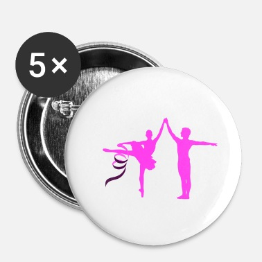 Jumpstyle Balletdanser Dance Dancer Jumpstyle Guards Dance - Buttons/Badges lille, 25 mm