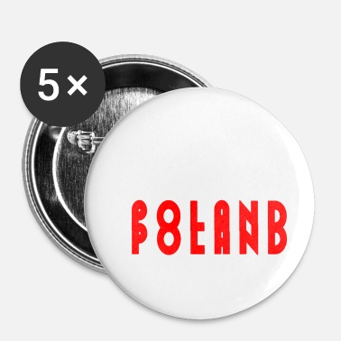 Pool Polen - Buttons klein 25 mm (5-pack)
