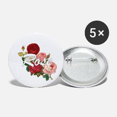 Rose Rose roses - Small Buttons