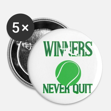 Court De Tennis Tennis Tennis Servir Cadeau Court de Tennis - Badge petit 25 mm
