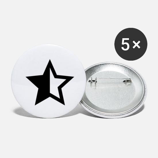 Starbucks Badges - star - Petits badges blanc