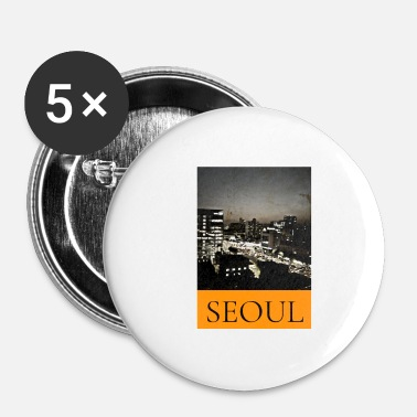 Populaire Stylish Seoul Fashion Design - Corée - Badge petit 25 mm