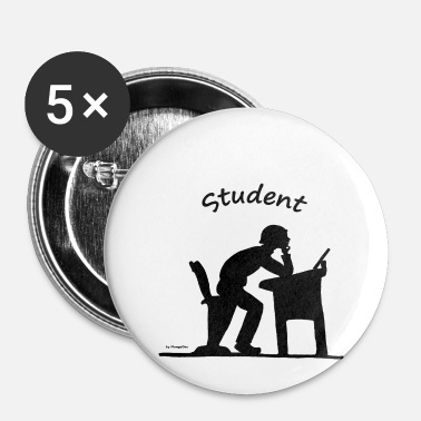 Étudiant étudiant - Badge petit 25 mm
