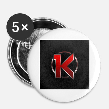 Logo logo - Buttons klein 25 mm (5-pack)