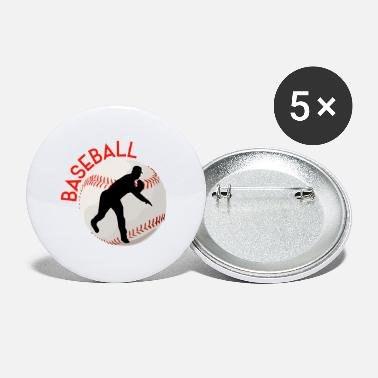 Pitcher Sagome di baseball Lettering Sport Pitcher - Spille piccole