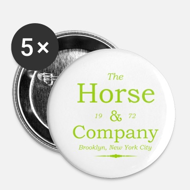 Champion The Horse Company - Ridning - Hest - Pony - Heste - Buttons/Badges lille, 25 mm