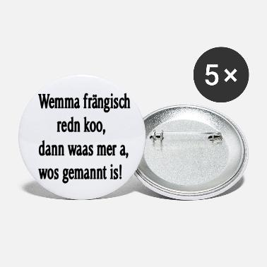Dialect Franconian dialect - Small Buttons