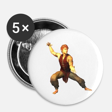 Karate MARTIAL ARTS TRAINING FIGURE 39 - Buttons/Badges lille, 25 mm