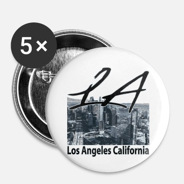 Los Angeles Los Angeles- LA- USA - Buttons/Badges lille, 25 mm