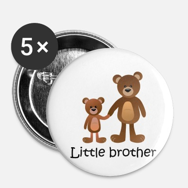 bear little brother - Buttons klein 25 mm