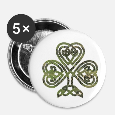Celtic Keltisk symbol 4 e 101 - Buttons/Badges lille, 25 mm