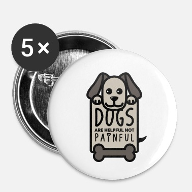 Message Chiens aident Bone Sweet Chiot Cool Gift - Badge petit 25 mm