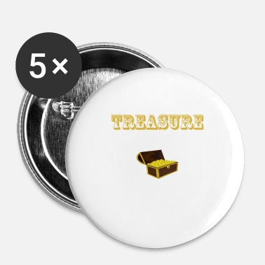 Hunting tresure hunting - Buttons klein 25 mm (5-pack)