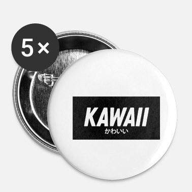Web kawaii - Buttons klein 25 mm (5-pack)