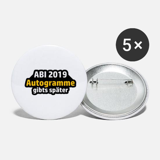 High School Senior Buttons - ABI 2019 autographs are available - Small Buttons white