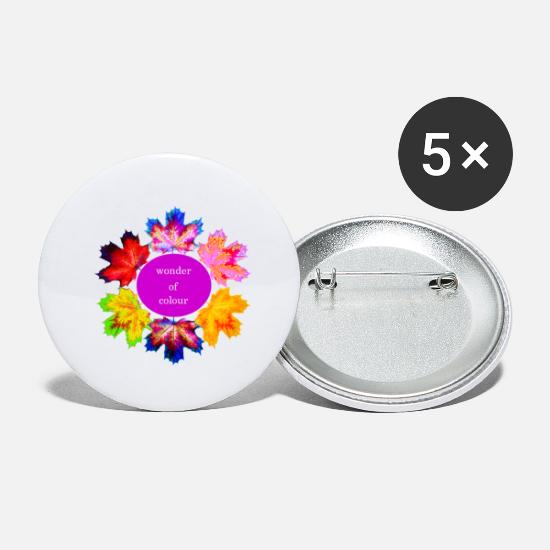 Nature Buttons - Colorful - Small Buttons white