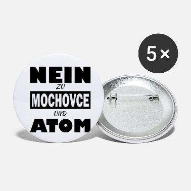 Anti Nuclear Power Mochovce nuclear power plant anti demonstration gift - Small Buttons