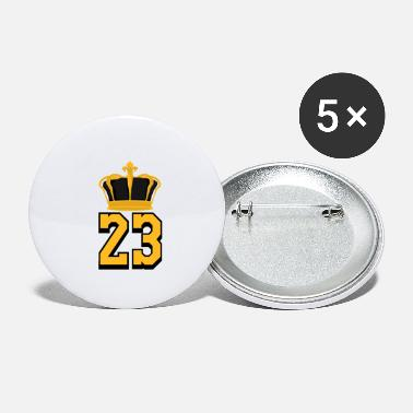 Basketball Number 23 LeBron James - Small Buttons