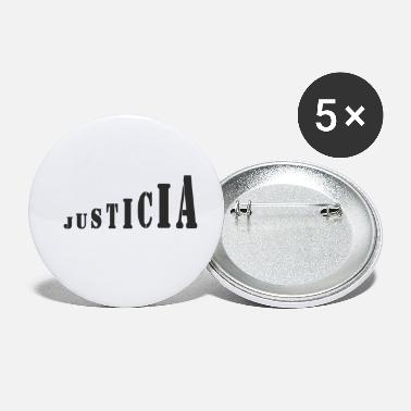 Justice-authority Justice - Small Buttons