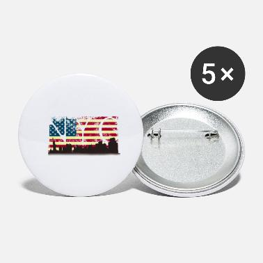Travel America, USA, NY, gift, gift idea - Small Buttons