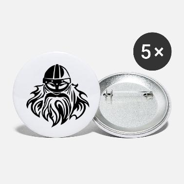 viking face - Small Buttons