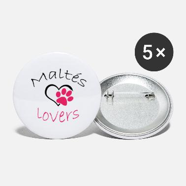 Maltes Lovers - Buttons klein
