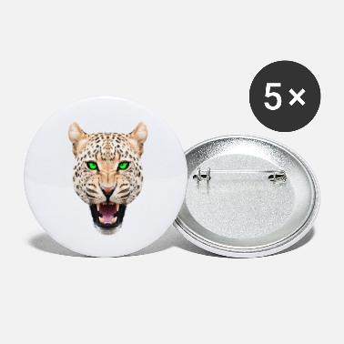 Leopard head - Small Buttons