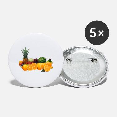 Fruit Fruits fruit fruits design - Small Buttons