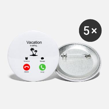 Iceland Vacation is calling summer vacation - Small Buttons