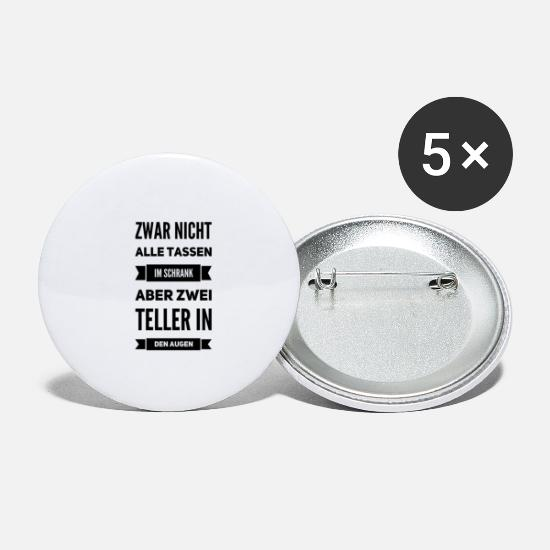 Part Buttons - Parts part of drugs | Druff Druffie Techno Gifts - Small Buttons white