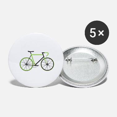 Bike Bicycle Road Bike Mountain Bike Ladies Gift Idea - Small Buttons